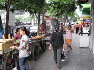 Sidewalk on Rama 4 Road