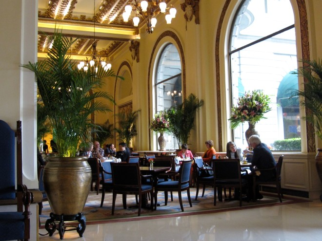 Tea at the Peninsula Hotel